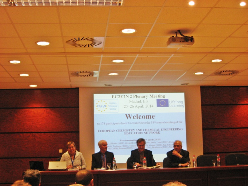 İSPANYA 'EC2E2N-2 Plenary Meeting and ECTN Association General Assembly' Toplantısı 1