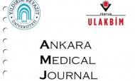 'Ankara Medical Journal' TÜBİTAK Türk Tıp Dizininde