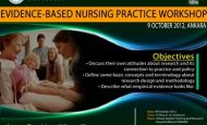 Evidence – Based Nursing Practice Workshop